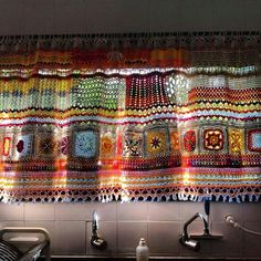 A MAGICAL Kitchen Curtain