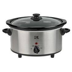 Kalorik Oval Slow Cooker Stainless Steel 37Qt >>> Want to know more, click on the image. (This is an affiliate link)