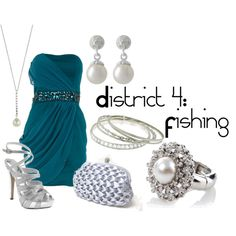 District 4: Fishing, created by checkers007.polyvore.com  Outfit for The Hunger Games, District 4: Fishing.