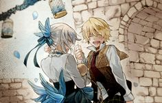 Echo and Oz ||| Pandora Hearts