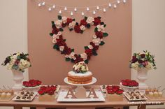 mesa de noivado