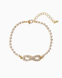 charming charlie   Infinity Twinkle Bracelet   UPC: 410006693531 #charmingcharlie
