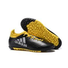 Adidas X 16.3 TF chaussure de football pour surface synth tique pour Homme  Noir Jaune d5452083b34e
