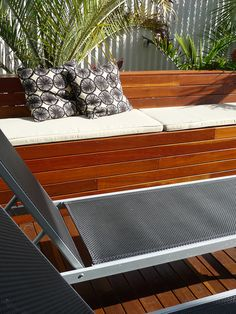 Deck, Bench Seat   Flickr - Photo Sharing!