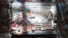 ¡Buenos días! ¡Viernes de #Steampunk! #Manualidades #artesania #artesanía #hechoamano #ÁlbumDeFotos #ÁlbumDeRecortes #álbum #handcrafted #handcraft #Handmade #photoalbum #Scrapbook #Scrapbooking #steampunklife #steampunklove #steampunklover #steampunkstyle
