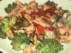 Stir Fry Chicken and Broccoli