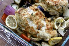 hummus crusted chicken.  think I will try roasted red pepper hummus