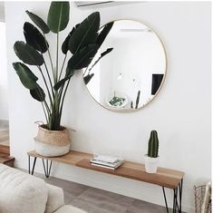 51 Simple And Elegant Scandinavian Living Room Decoration Ideas is part of Simple Living Room Decor - A Scandinavian design in your house means you may enjoy minimal decoration, clean lines, functionality, and a cleanness that's typically […] Decoration Hall, Entryway Decor, Bedroom Decor, Bedroom Ideas, Entryway Ideas, Entrance Ideas, Room Decorations, Entrance Halls, Mirror Bedroom