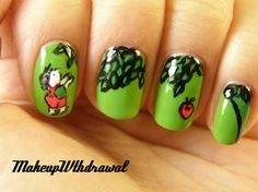 The Giving Tree Nails. I love that book :D