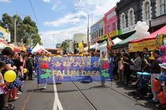 Melbourne: Falun Gong Waist Drum Performance Again Welcomed at Vietnamese Community New Year Celebration