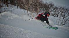 Skiing in Japan #evo #evogear