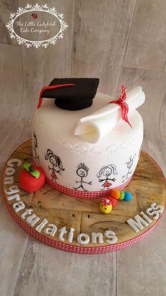 Graduation cake for a primary school teacher More