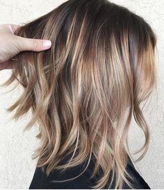 "SalonPick on Instagram: ""Beautiful Chocolate Blonde, By @kristen.lumiere . . . #colorist #colorists #haircolor #haircolorist #haircolorideas #haircut #haircuts…"""