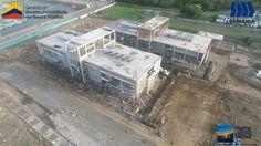 El día de ayer realizamos un sobre vuelo a la construcción del Centro de Atención Ciudadana de Esmeraldas que ya lleva el 69 % de avance, una gran obra que se construye en la Provincia, la realiza el Gobierno Nacional a través de Inmobiliar y la ejecución de este importante proyecto está a cargo de la Constructora SEMAICA. Siempre será un placer formar parte de este gran equipo de SEMAICA. #Droneontop  #DroneParts