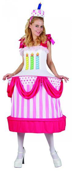Déguisement gâteau d'anniversaire femme : Deguise-toi, achat de Deguisements adultes