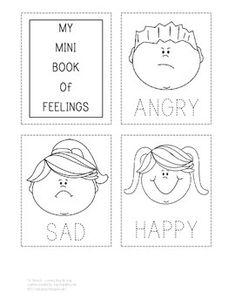 Emotions worksheets for preschoolers