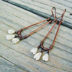 Moonstone Earrings w