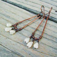 Moonstone Earrings w