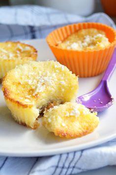 pieczone truskawki: Sernikowe muffinki bez jajek