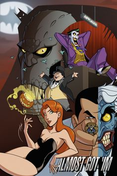Batman: The Animated Series by Michael Lee Lunsford