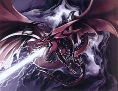 Slifer the Sky Dragon. My Favorite Egyptian God Card.