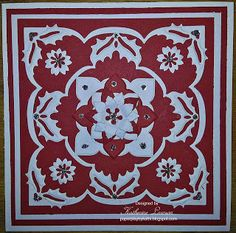 Red and White Lea'bilities Holly Card