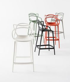 Masters bar stool co-designed by Eugeni Quitllet and Philippe Starck