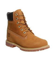 Timberland Premium 6 Boots Wheat Nubuck - Ankle Boots