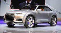New Crosslane Coupe Hybrid Points to the Design Language of Future Audi SUVs