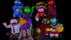Gang Beasts, Fictional Characters, Art, Art Background, Kunst, Performing Arts, Fantasy Characters, Art Education Resources, Artworks