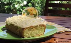 This Coconut Loaf Cake with Icing is so moist and delicious. It has 4 ingredients that are one cup each and we have a quick video to show you how. Loaf Recipes, Coconut Recipes, Cake Recipes, Dessert Recipes, Cooking Recipes, Coconut Loaf Cake, Coconut Slice, Coconut Milk, Gastronomia