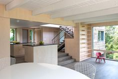 ryall porter sheridan architects: orient house IV, long island, new york Interior Design Gallery, Decor Interior Design, Long Island, Orient House, Adams Homes, Architects Journal, Modern Condo, Home Remodel Costs, Passive House