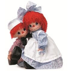 """Timeless Traditions - Raggedy Ann & Andy - 26"""" Set 