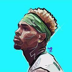 Stream Chris Brown - Post & Delete Instrumental Remake by Young Mekhi from desktop or your mobile device Cartoon Kunst, Cartoon Drawings, Cartoon Art, Chris Brown Art, Chris Brown Drawing, Chris Brown Wallpaper, Dope Kunst, Trill Art, Rapper Art