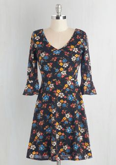 Fab Florals Dress, @ModCloth