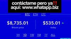 🔥🔥BITCOIN EN FUEGO OTRA VEZ🔥 No solo seas un espectador ‼️ Contáctame Ya‼️aqui: www.whatapp.biz #catonr  #bitcoins #criptomonedas #blockchain #btcbot #robotbitcoin