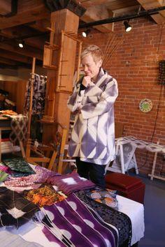 Fiber Art Now | A Visit to Amy Nguyen Textiles