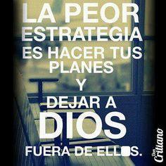 Dios te quiero en todos mis planes sin ti no los quiero!!
