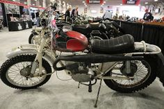 OldMotoDude: 1957 Husqvarna MX sold for $4,000 at the 2017 Mecu...