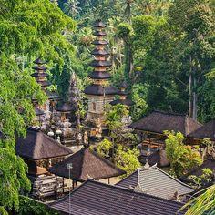 Hidden Hindu temple in Ubud