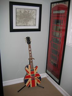 British Themed Kid's Bedroom I want this poster for Tommy's room!