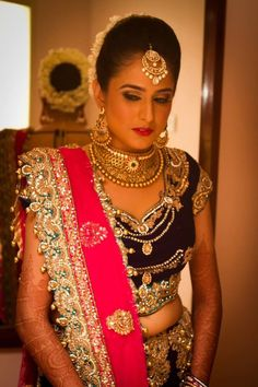 Gold jewellery # bride