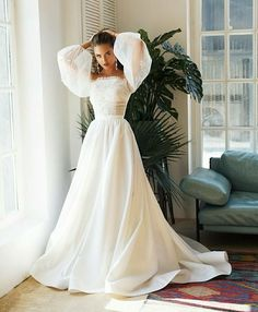 Wonderful Perfect Wedding Dress For The Bride Ideas. Ineffable Perfect Wedding Dress For The Bride Ideas. Dresses Elegant, Pretty Dresses, Beautiful Dresses, Dream Wedding Dresses, Bridal Dresses, Wedding Gowns, Puffy Wedding Dresses, Wedding Themes, Dresses Dresses