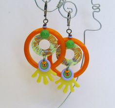 JUST FAB  Earrings II by droolworthy on Etsy, $26.00