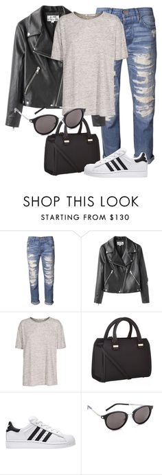 """""""Untitled #1942"""" by annielizjung ❤ liked on Polyvore featuring NSF, Acne Studios, T By Alexander Wang, Victoria Beckham and Yves Saint Laurent"""