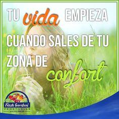 """""""Tu vida empieza cuando sales de tu zona de confort"""" #FraseDelDía #Motivación"""