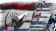 Schedule wallpaper for the New England Patriots Regular Season, 2016. All times…