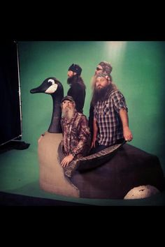 Jase, Si, Phil, and, Willie. Duck Dynasty Cast, Dynasty Tv, Phil Robertson, Robertson Family, Duck Calls, Quack Quack, Duck Commander, Hunting Camo, Christian Families