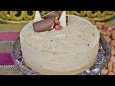 Receita de Cheesecake de pasta de amendoim - Mallu Hessel - YouTube Cheesecakes, Vanilla Cake, Make It Yourself, Chocolate, Cream, Desserts, 1, Food, Youtube