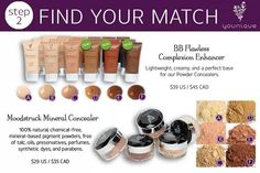 Moodstruck Minerals Concealer: 100% natural, chemical-free, mineral-based pigment powders, free of talc, oils, preservatives, perfumes, synthetic dyes, and parabens. www.youniqueproducts.com/RICHELESCHULTZ